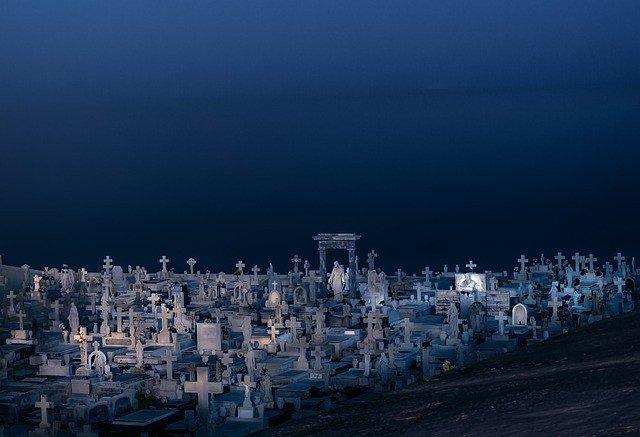 сонник-кладбище