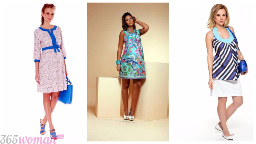 модные платья для беременных 2018