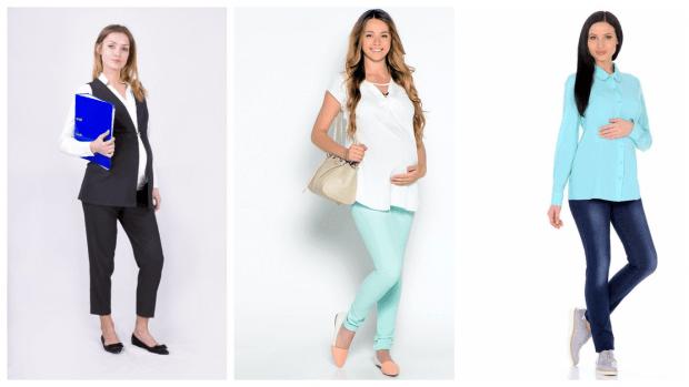 модная одежда для беременной 2020