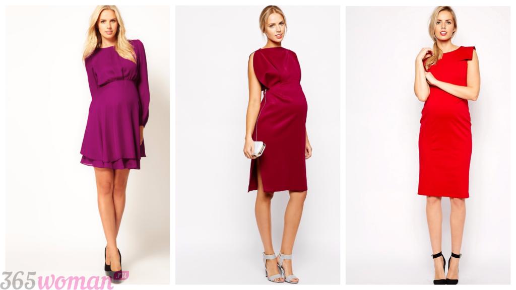 платья для беременных 2018