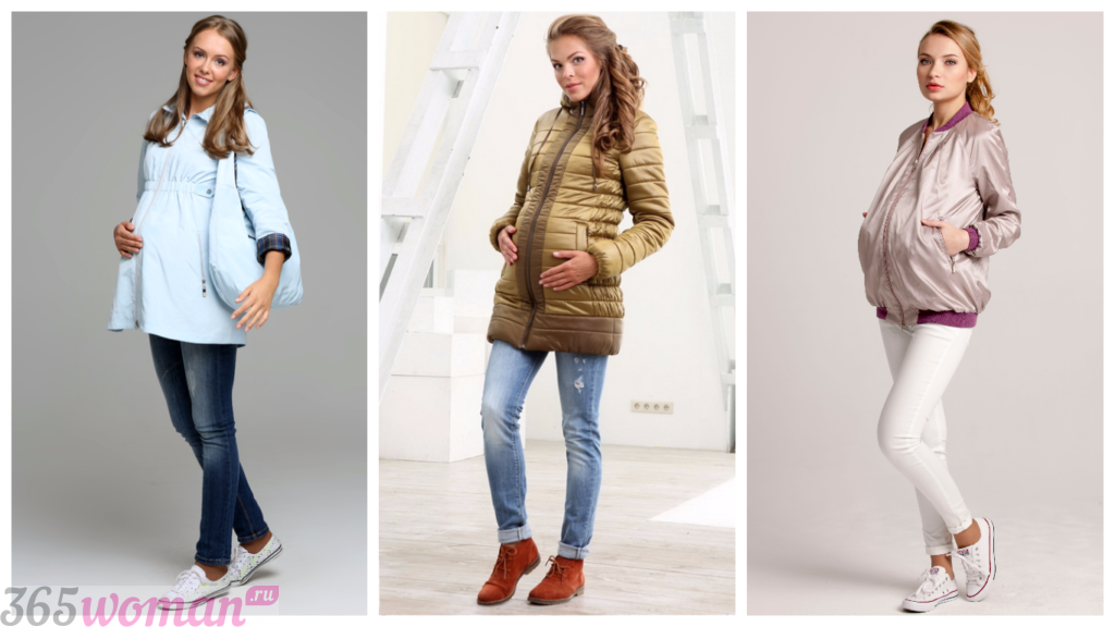 зимняя мода для беременных 2018