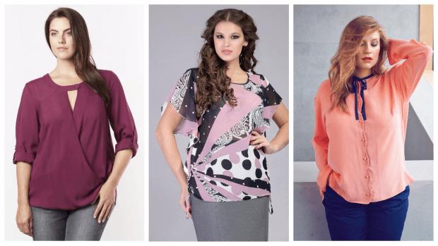 Мода для полных женщин весна-лето 2021: одежда