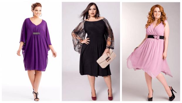 Мода для полных женщин весна-лето 2021: платья