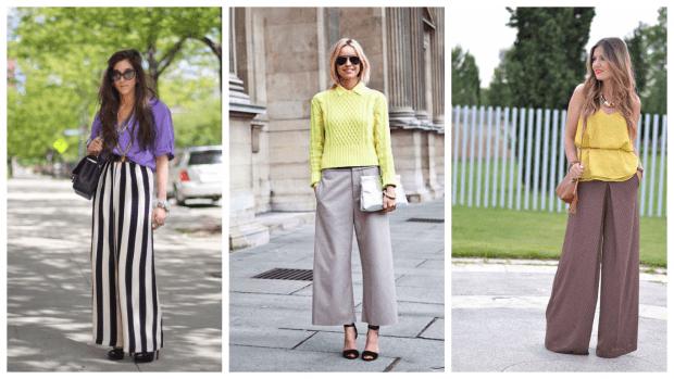 Модные женские брюки осень-зима 2019 2020: в полоску
