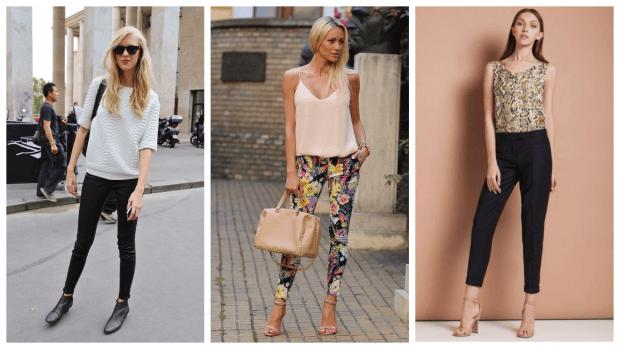 Модные женские брюки осень-зима 2019 2020: черные принт