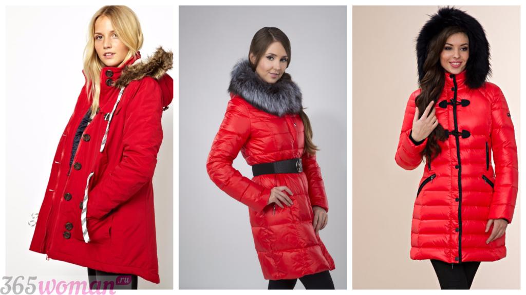 куртка осень зима женская 2018 2019: модные цветные