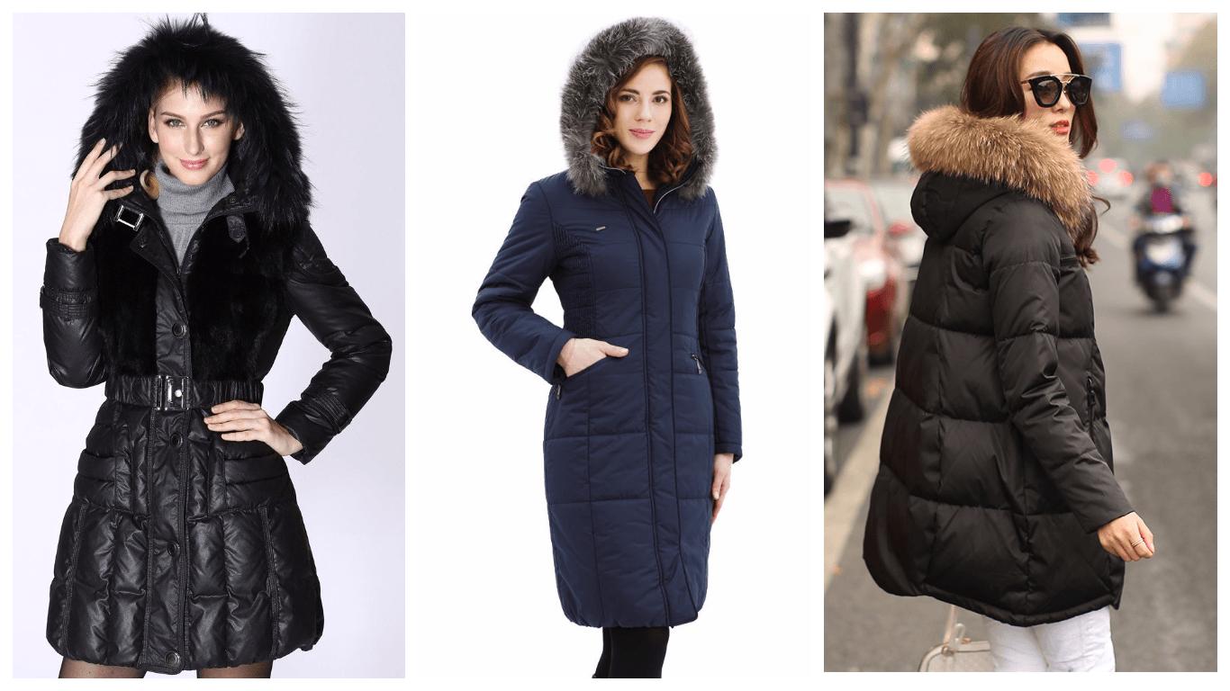 Модные зимние куртки женские
