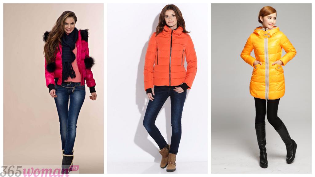модные женские куртки осень зима 2018 2019: цветные стильные
