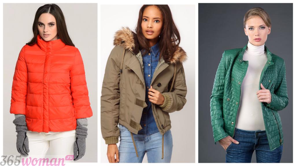 куртка осень зима женская 2018 2019: стильные цветные