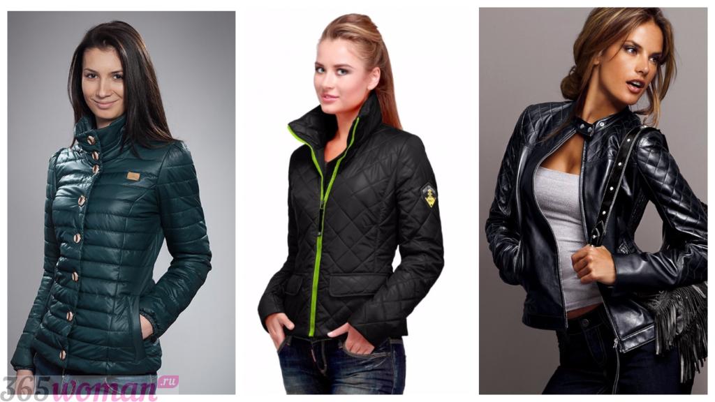 модные куртки осень зима 2018 2019 женские: черные стильные