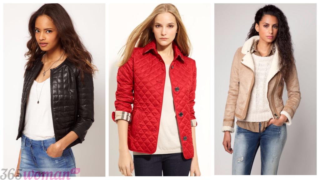 куртки женские осень зима 2018 2019 фото: стеганные