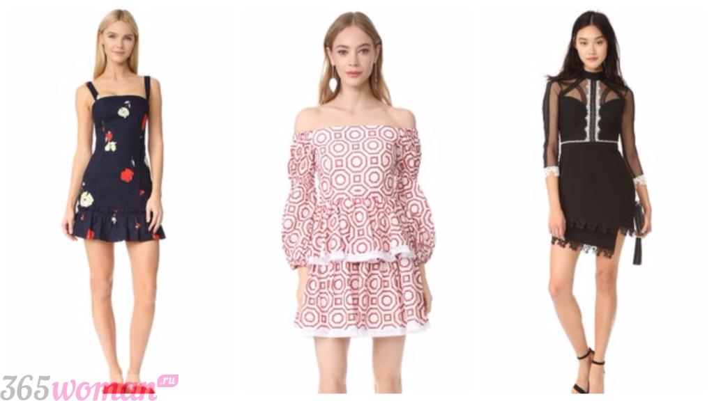 платья фасоны весна лето: клубные платья