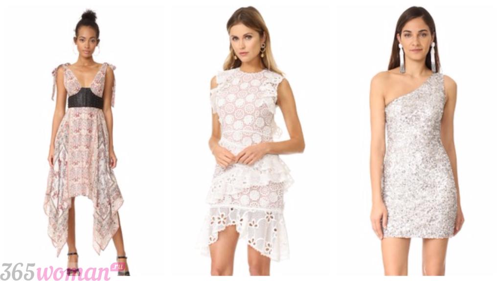 фото модных платьев 2019 весна лето: ажурные