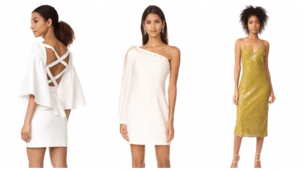 платья весна-лето 2021: белые короткие