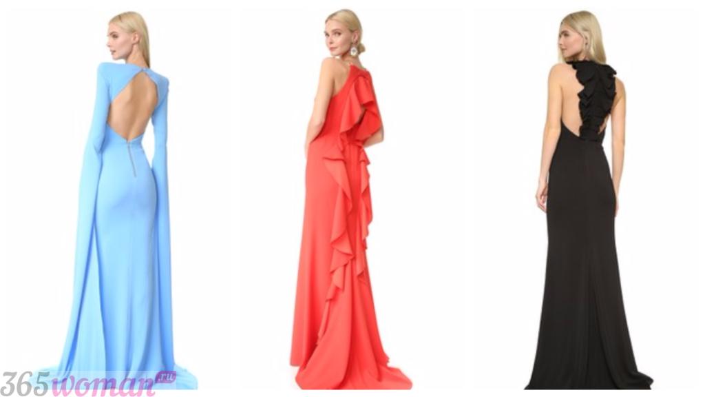 платья фасоны 2019 весна лето: длинные