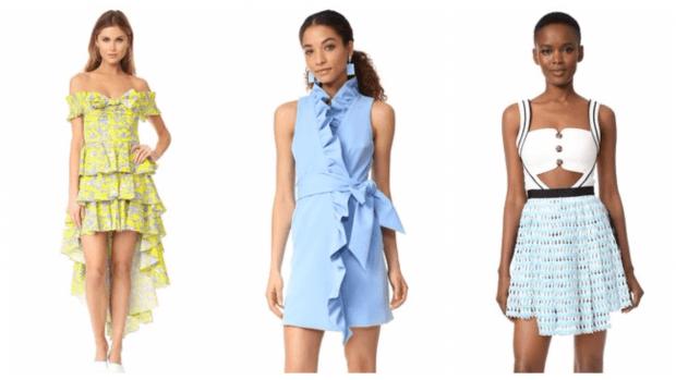 платья весна-лето 2021: разные