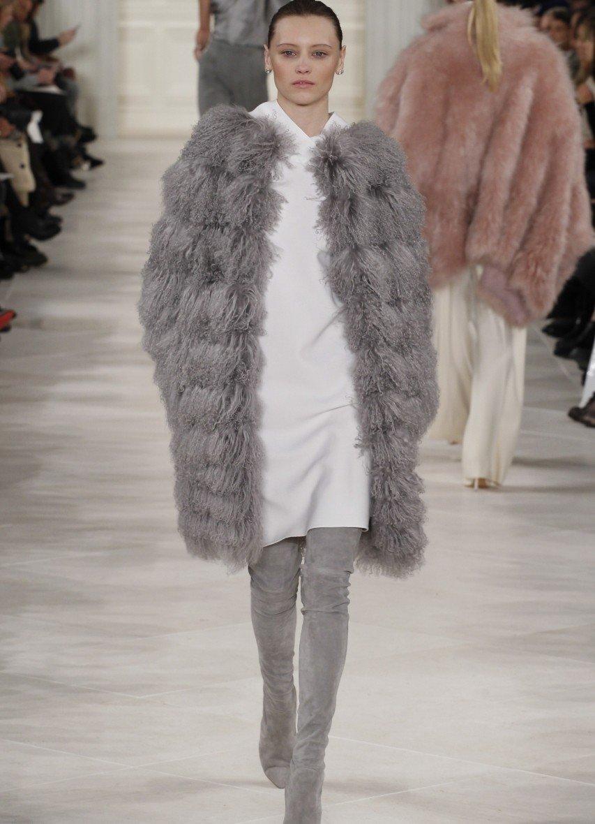 Модные меховые жилеты осень-зима 2018 года
