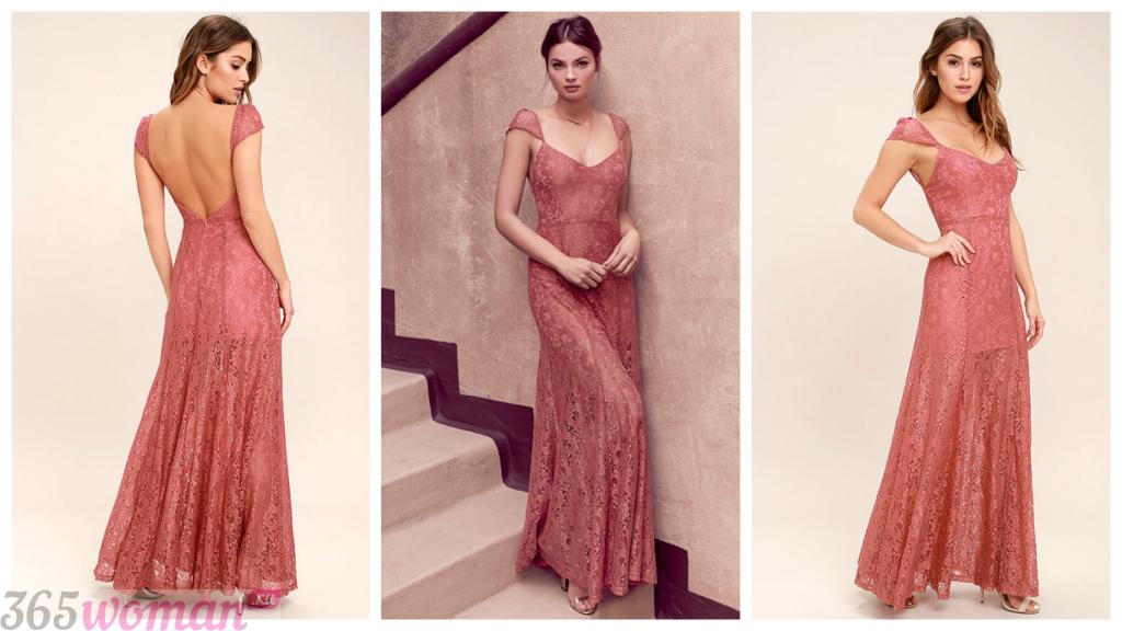 вечерние платья в пол мода 2018-2019