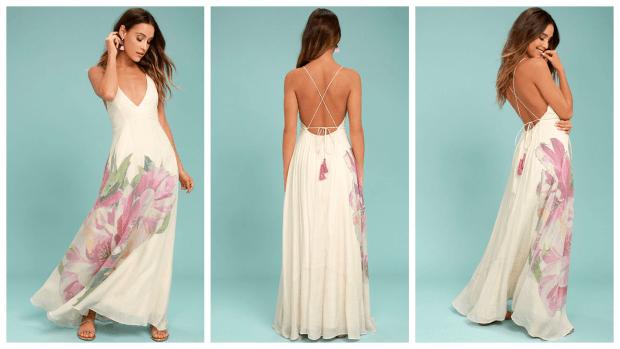 летние вечерние платья мода 2019-2020