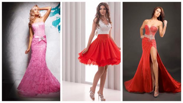 стильные платья со шлейфом 2019-2020