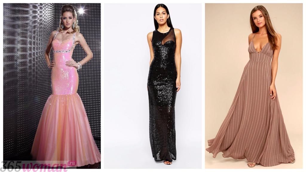 модные коктейльные платья 2018 фото новинки в пол