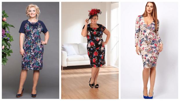 платья для полных женщин 2019 2020