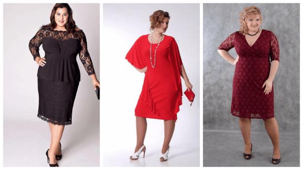 модные платья для полных женщин 2019 2020