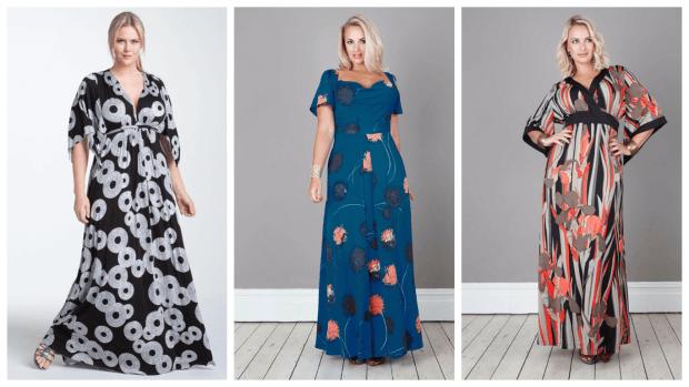 длинные платья для полных женщин 2019 2020