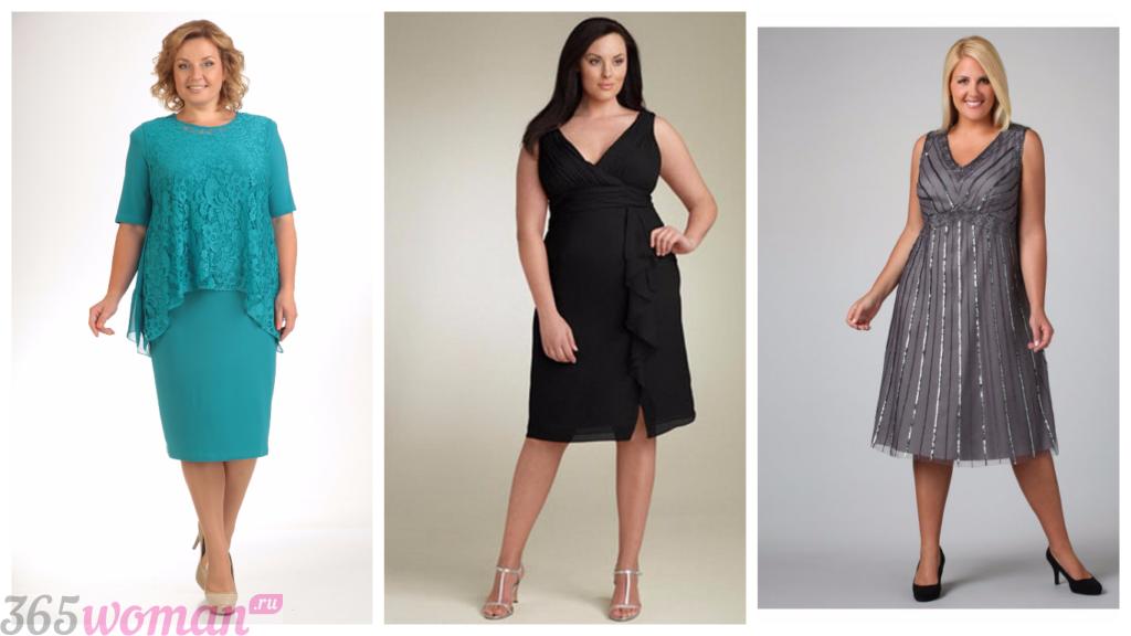 модные платья в офис для полных женщин 2018 2019