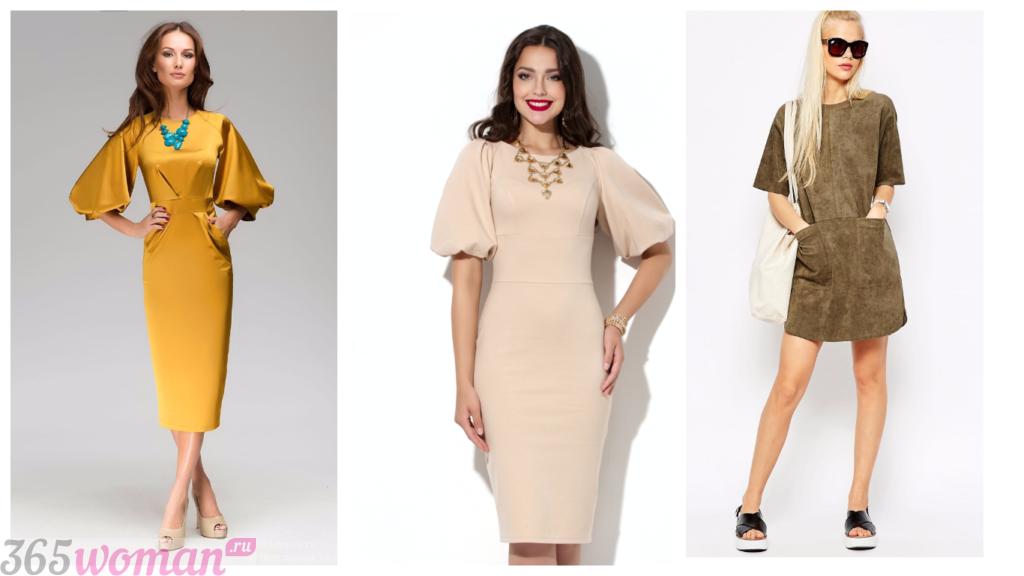 ретро-платья на каждый день 2018 2019 модные