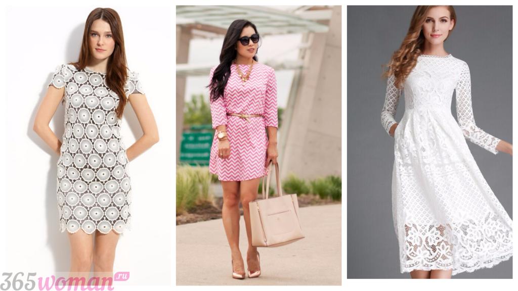 модные платья на каждый день 2018 2019