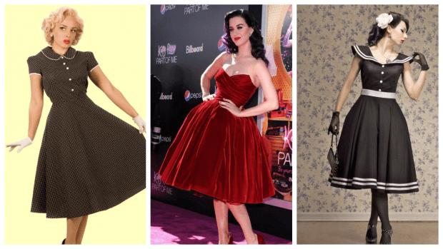 платья ретро на каждый день 2019 2020 модные