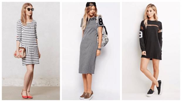 платья с коротким рукавом повседневные 2019 2020