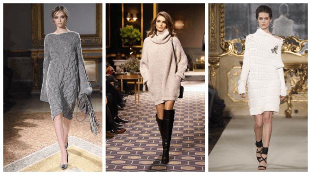 теплые повседневные платья 2019 2020 модные