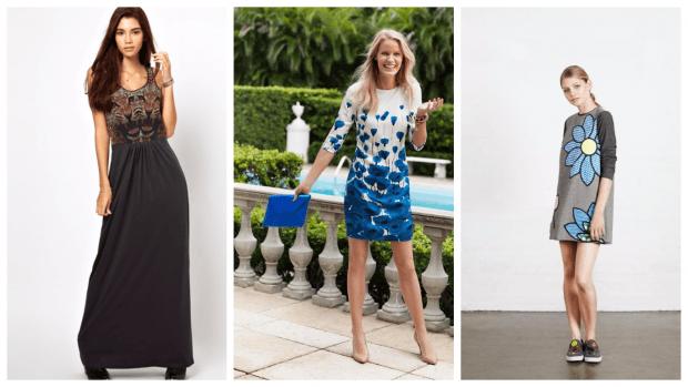 платья принт повседневные 2019 2020 модные