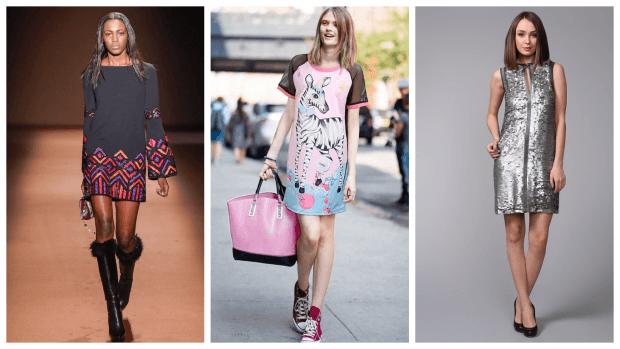 платья с принтом повседневные 2019 2020 модные
