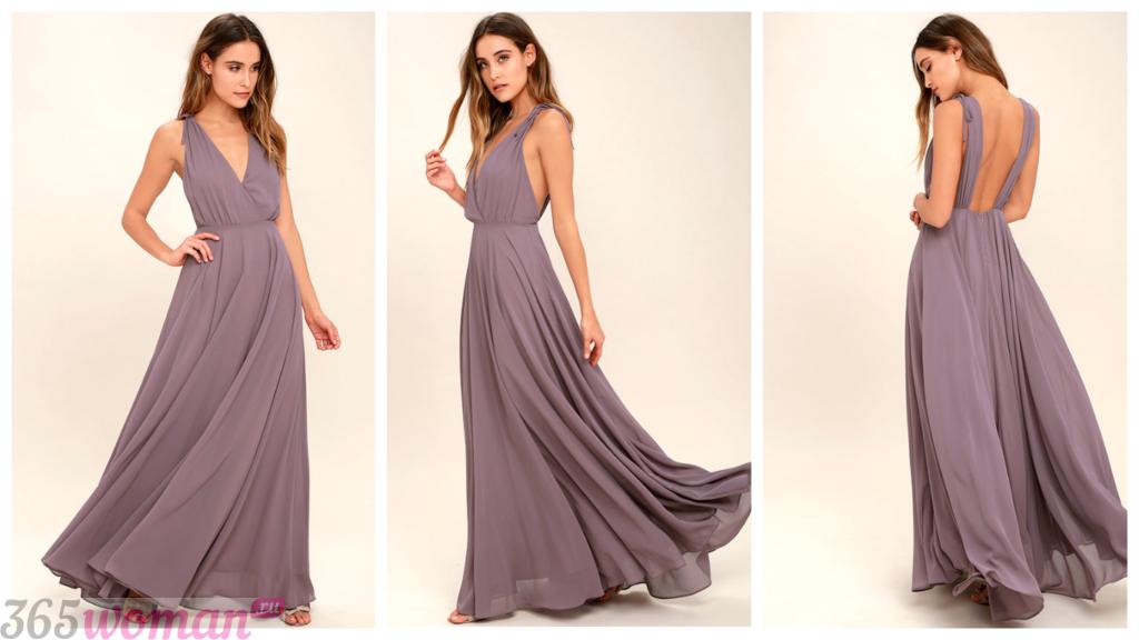 нарядные шифоновые платья