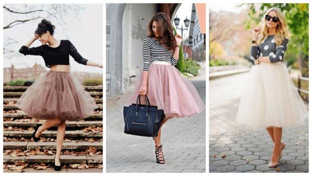 фатиновая юбка осень-зима 2019 2020