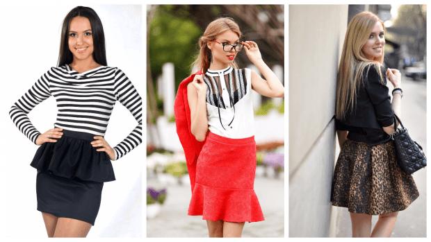 модные юбки осень-зима 2019 2020