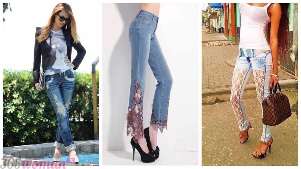 джинсы женские мода 2018 2019