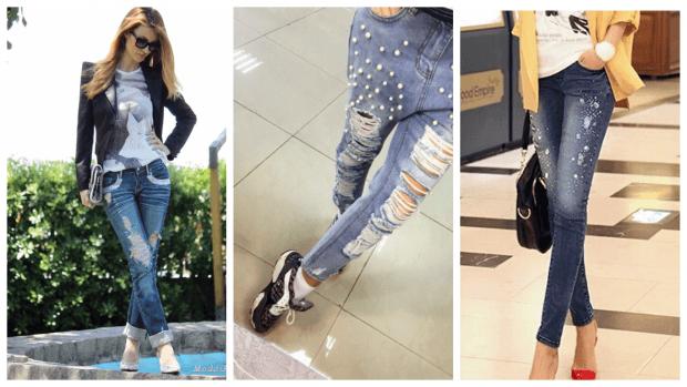 модные тенденции в одежде: джинсы бойфренды