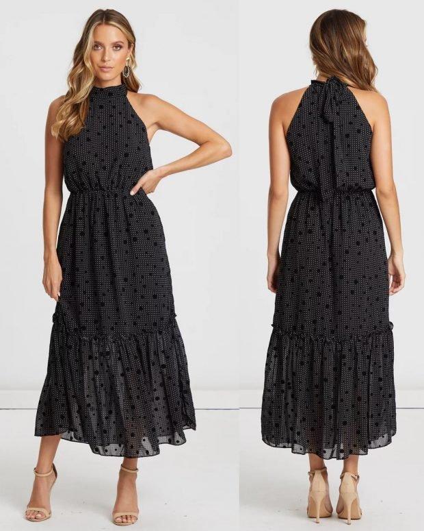 модные платья лето 2021: мелкая клетка