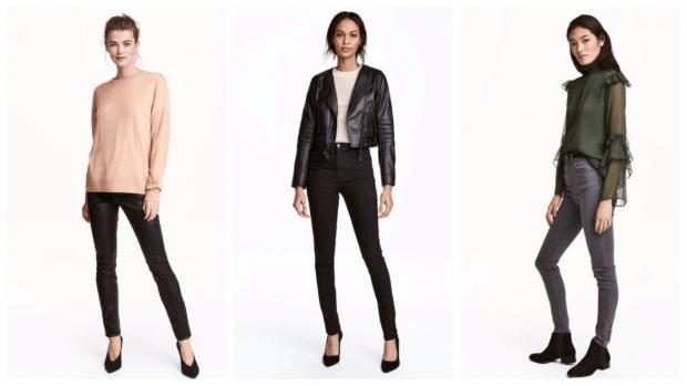 стильные образы с узкими брюками с чем носить