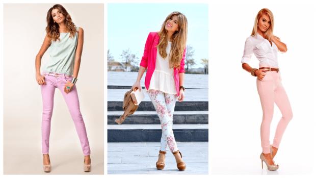 с чем носить узкие брюки: стильные