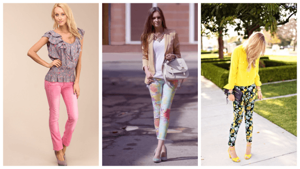 модные цвета брюк с чем носить
