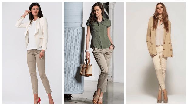 стильные узкие брюки с чем носить