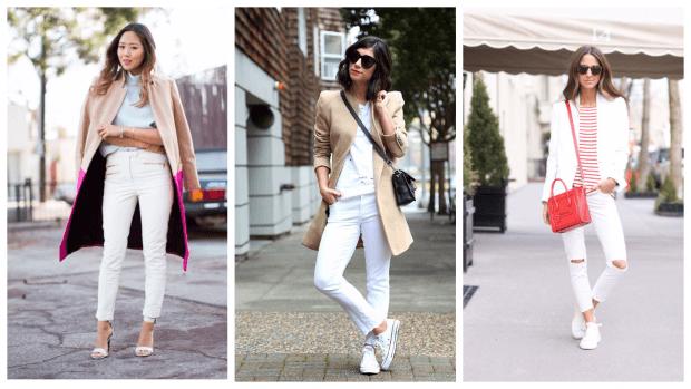 с чем носить модные узкие брюки, джинсы