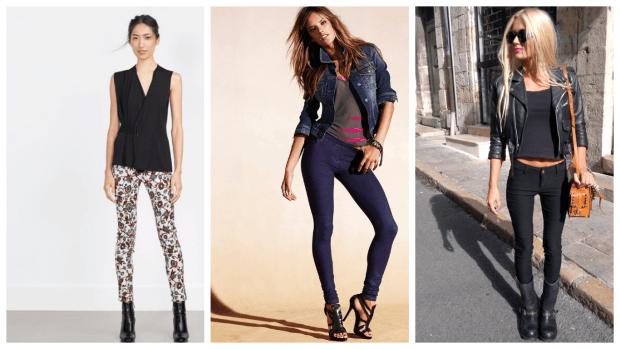 с чем носить женские узкие брюки