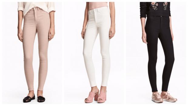с чем носить стильные узкие брюки
