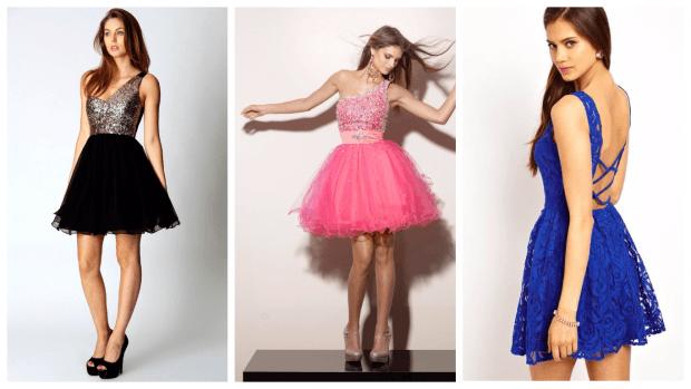 яркое клубное платье